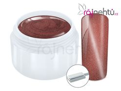 Ráj nehtů Fantasy line Ráj nehtů Barevný UV gel CAT EYE MAGNET - Red 5 ml