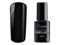 Ráj nehtů UV gel lak Shellac Me 12ml - Black